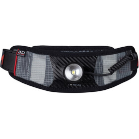 UltrAspire Lumen 800 Ultra Waist Light Waist Pack, black/red